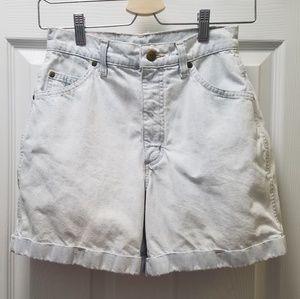 Vintage Hunt Club High Waisted Mom Jean Shorts
